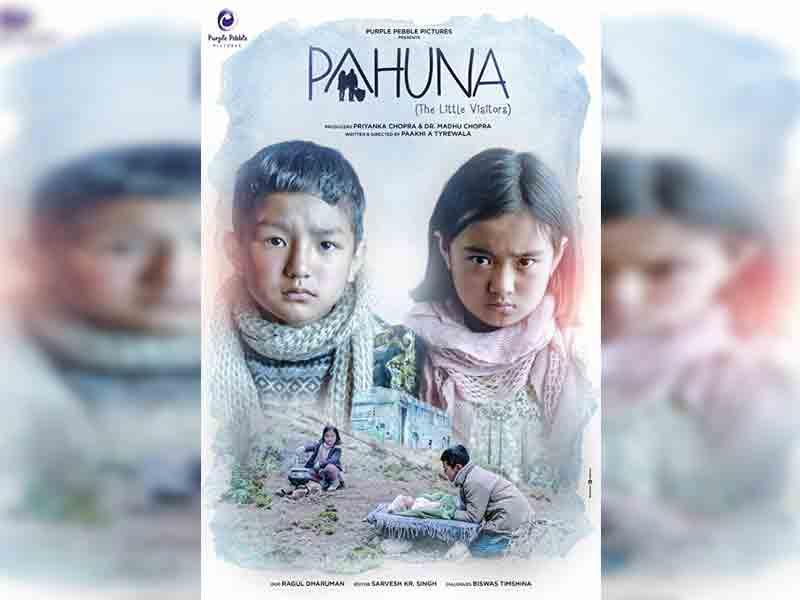 Пахуна: маленькие посетители